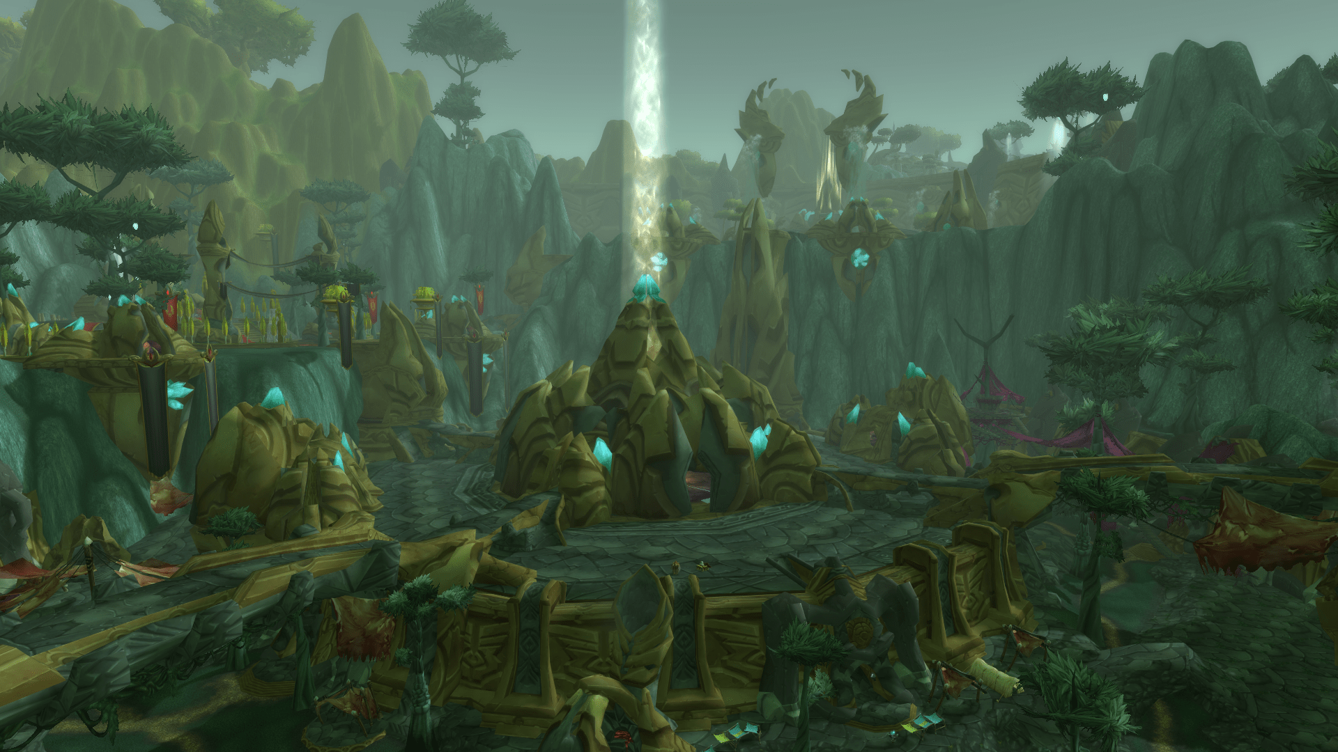 Black Wallpaper 1920x1080 The Fall Of Shattrath Awaiting The Muse