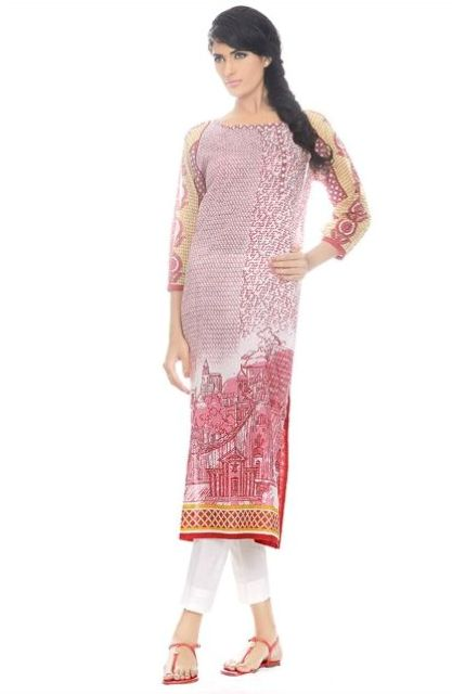 Crescent Lawn Stylish Eid Collection 2013