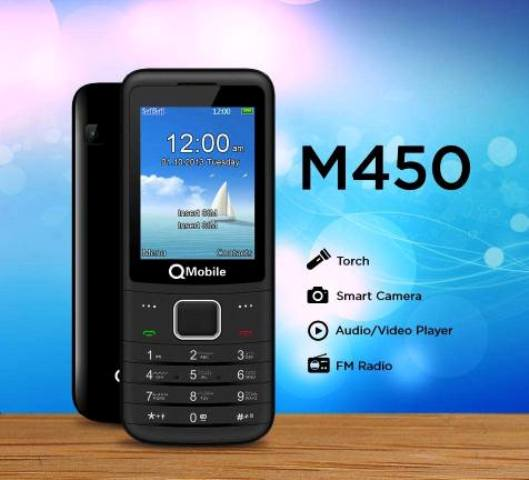 Q Mobile M450 Features