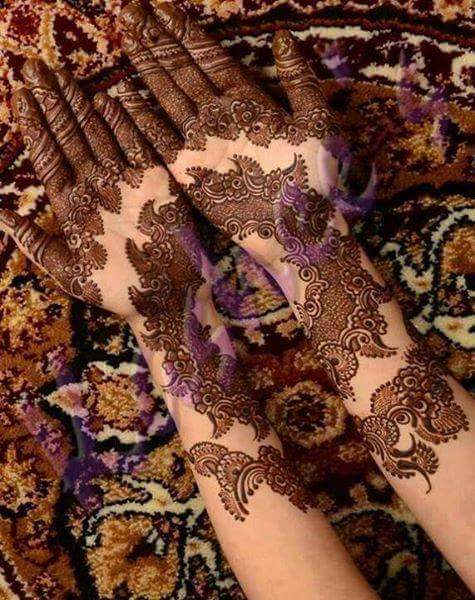 new-mehndi-designs-wedding-ceremony 2016-17