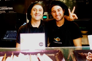 Chefs in Madrid, Spain