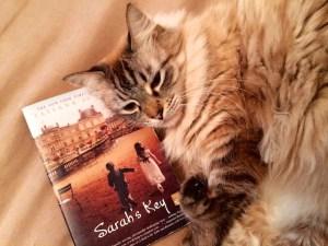 Hiro holds Sarah's Key close to his heart.