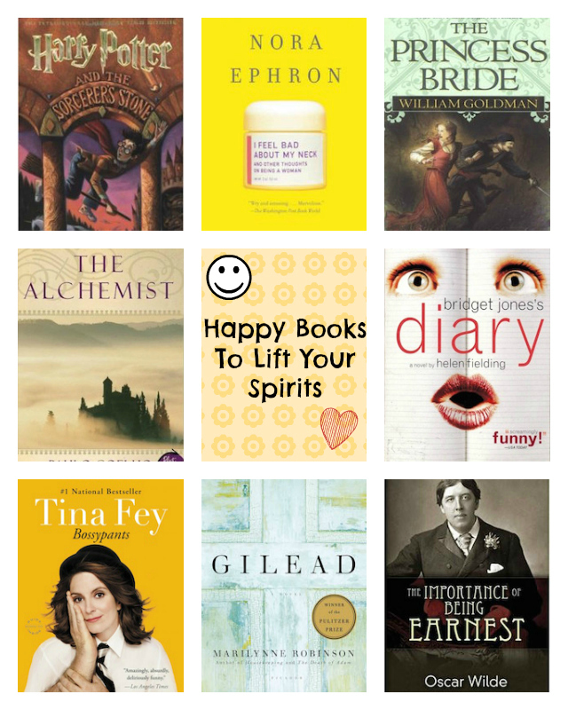 Happy Books To Lift Your Spirits