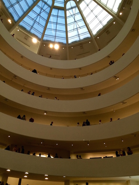 Guggenheim Museum as part of the Museum Mile festivities.