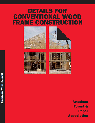 WCD1 - Details for Conventional Wood Frame Construction
