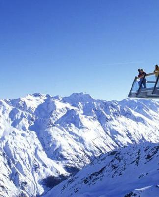 горные лыжи в зельдене