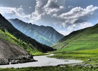 дороги в Тушетии