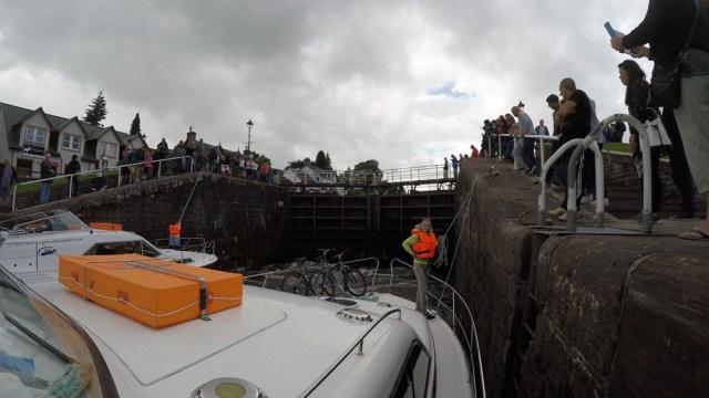 Каледонский канал на катере