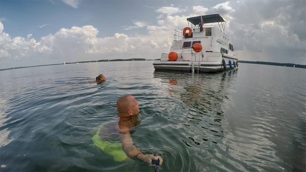 Круиз по Мазурским озерам в Польше