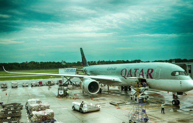 Airbus A350 XWB Qatar Airways отзыв