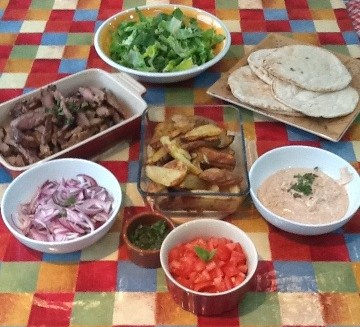 A healthy home cooked kebab that beats any takeaway