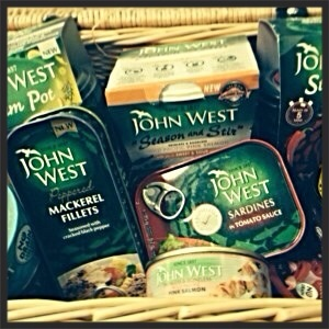 John West has a great selection of healthy tinned fish.