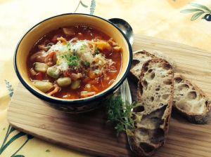 Soup, nostalgia in a bowl, or magic medicine?