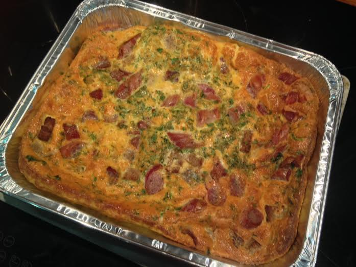 Christmas Leftovers - Frittata