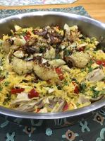 Chicken Biryani with Roasted Cauliflower