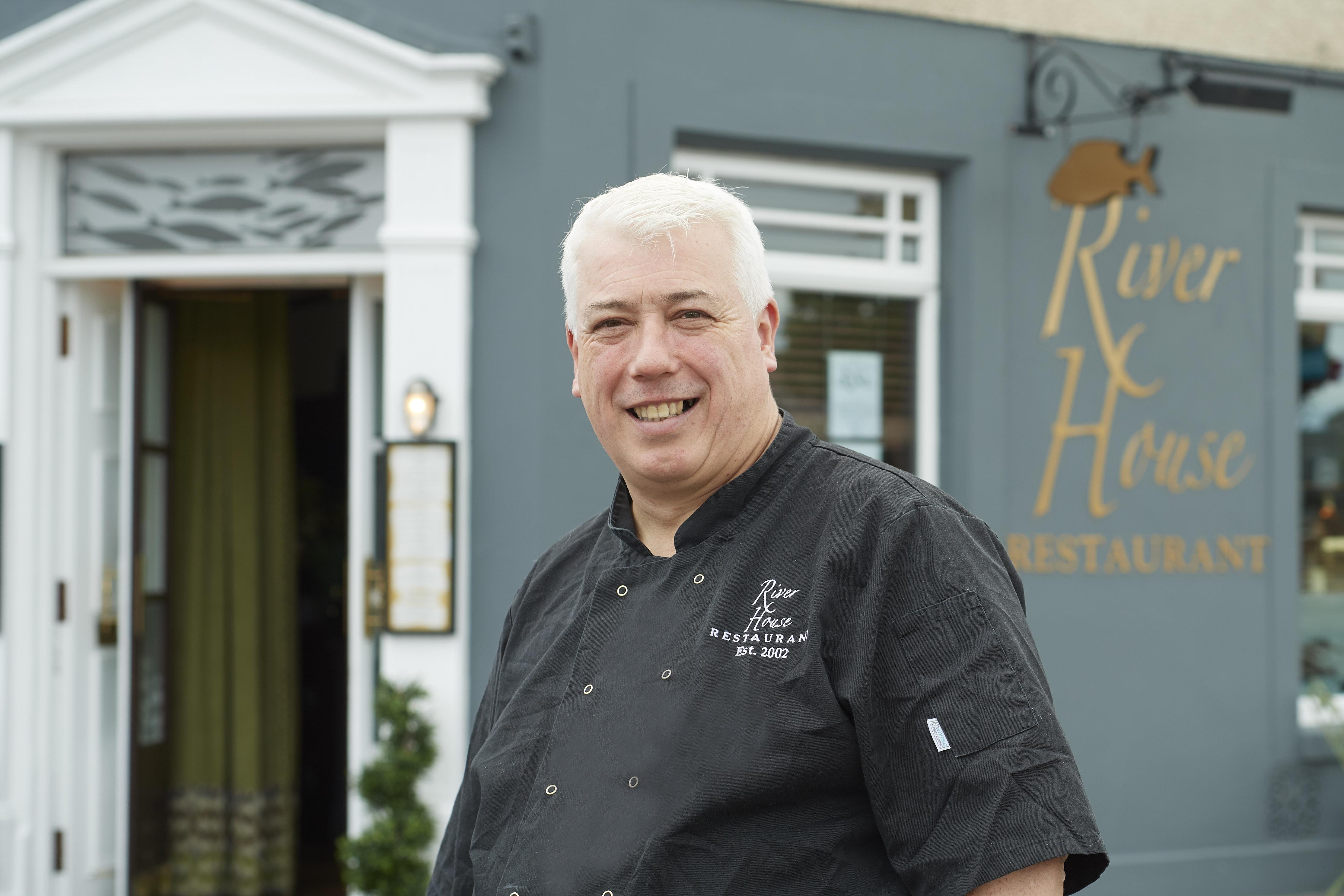 Chef Alfie Little, Riverhouse Restaurant, Inverness.