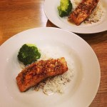 Honey and Ginger Thai Salmon