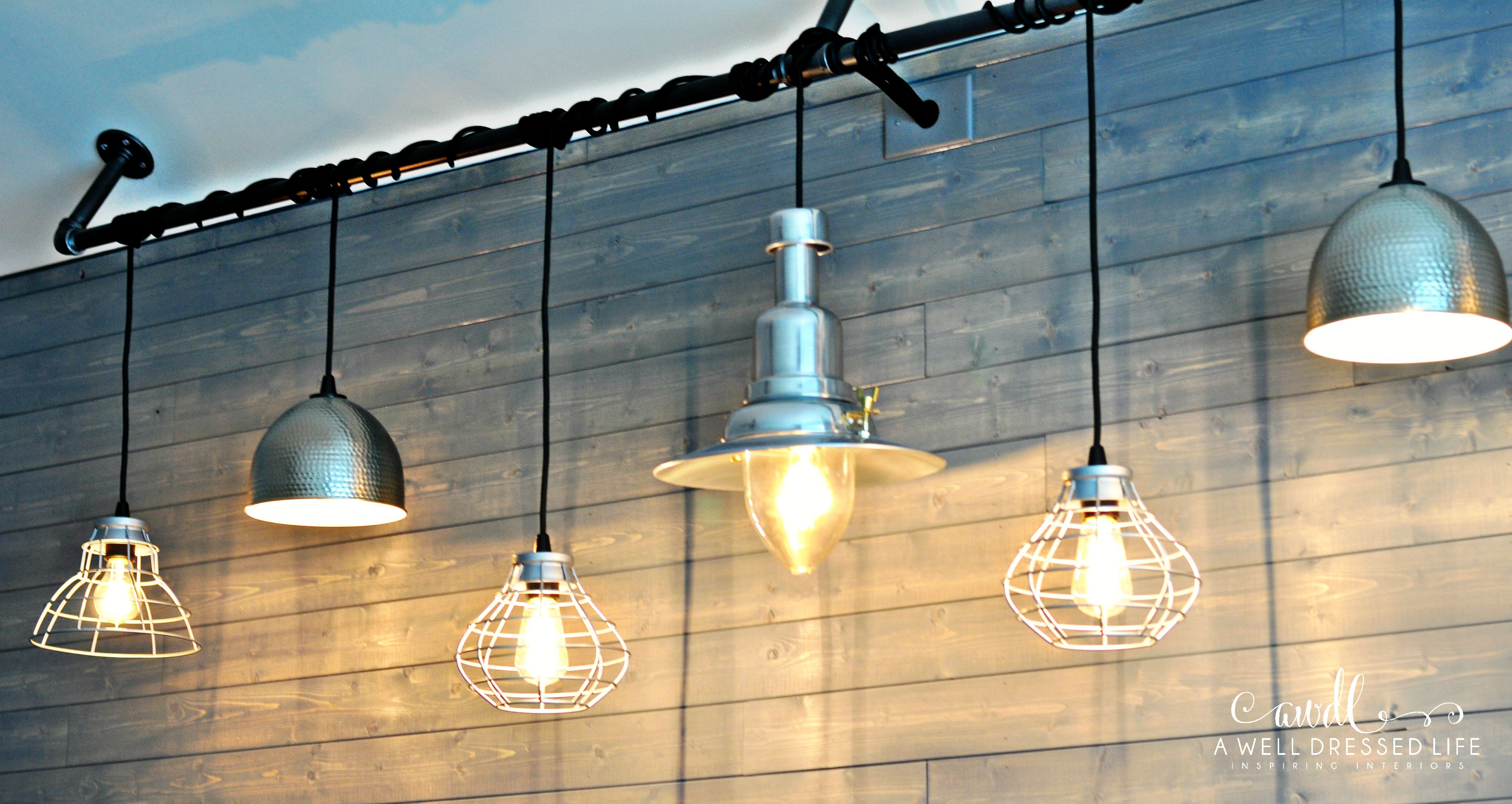 Industrial Chic Lighting Diy Industrial Chic Lighting Fixture