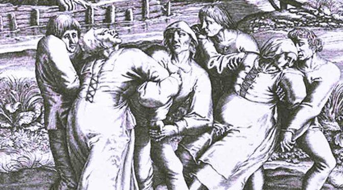 dancing plague of france