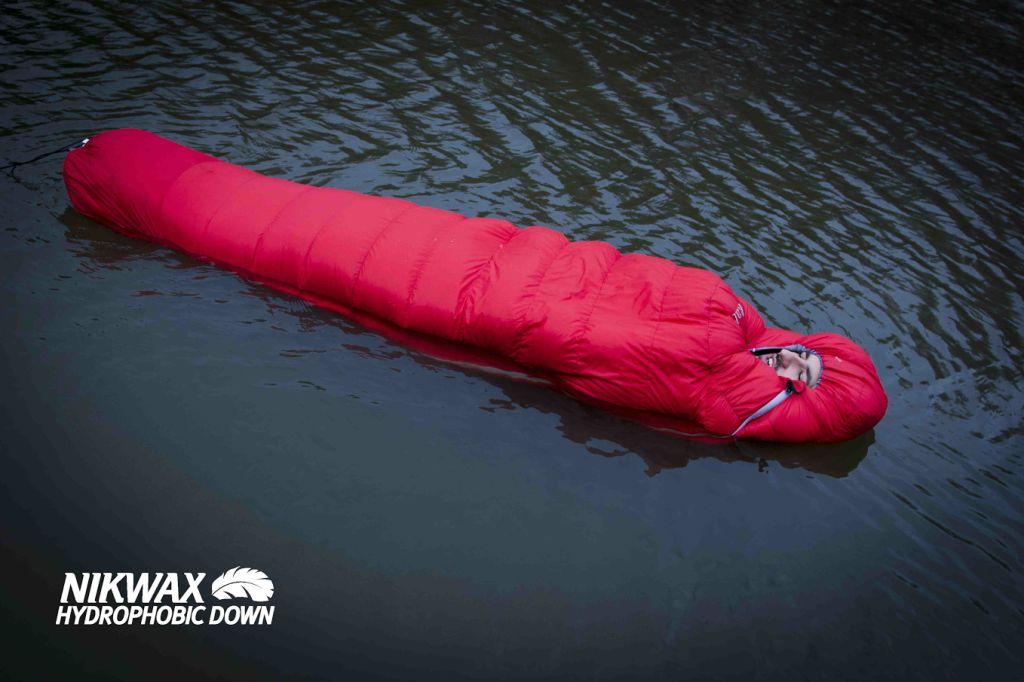 Ein Schwimmender Schlafsack! Jetzt habe ich alles gesehen