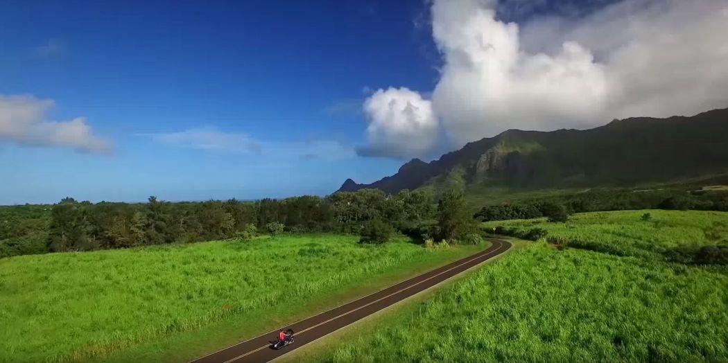 Kauai from the air Screencap 2