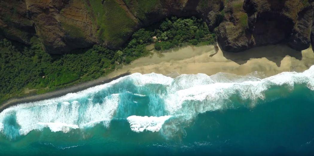 Kauai from the air Screencap 4