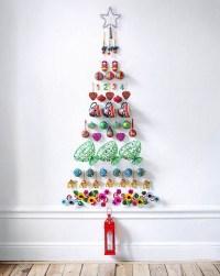 diy-christmas-tree-wall-decorations