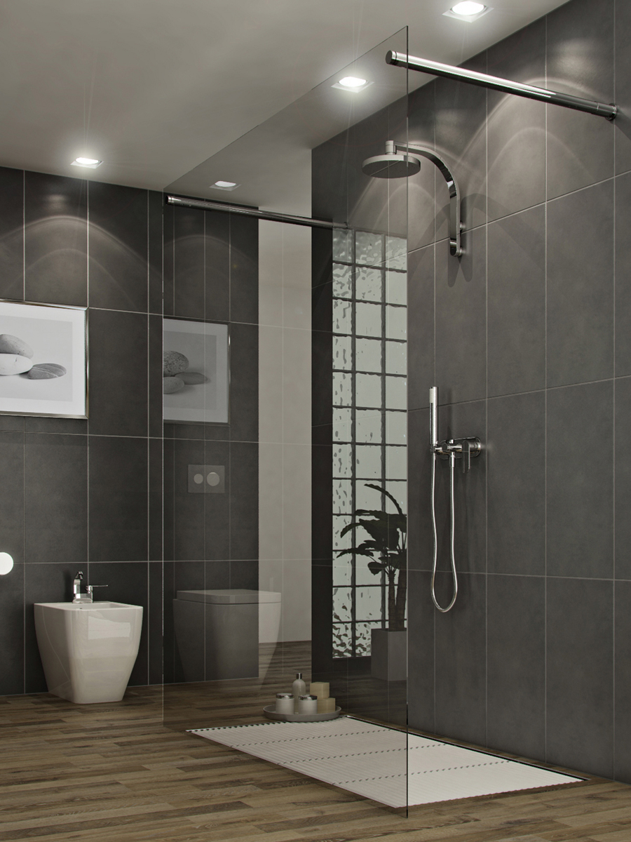 11 Awesome Modern Bathrooms With Glass Showers Ideas Awesome 11