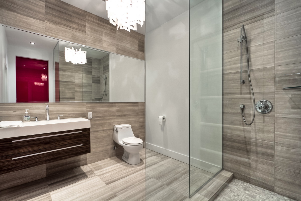 Modern Restroom Designs 11 Awesome Modern Bathrooms With Glass Showers Ideas