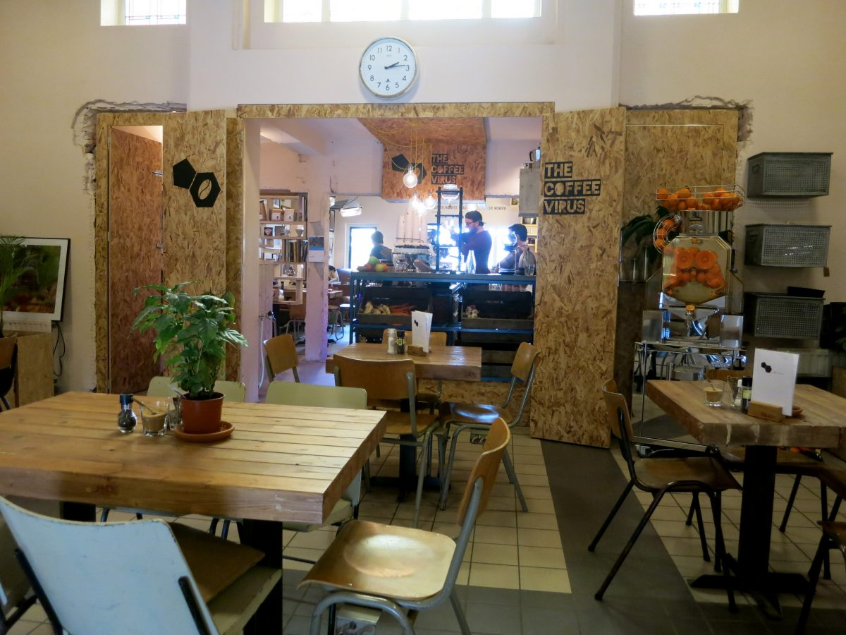 Lunchbuffet Amsterdam The Coffee Virus Coffee Lunch Cakes In Noord