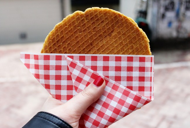 There are many Dutch delights which must be tried at least once. Here's a list of 10 Dutch foods you should be sure to sample! The fresh stroopwafel is one of them.