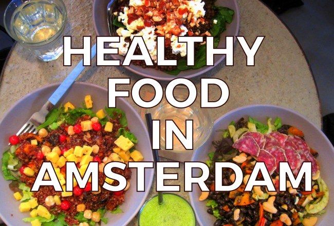 Here are our favorite hotspots to dine out on healthy food in Amsterdam.