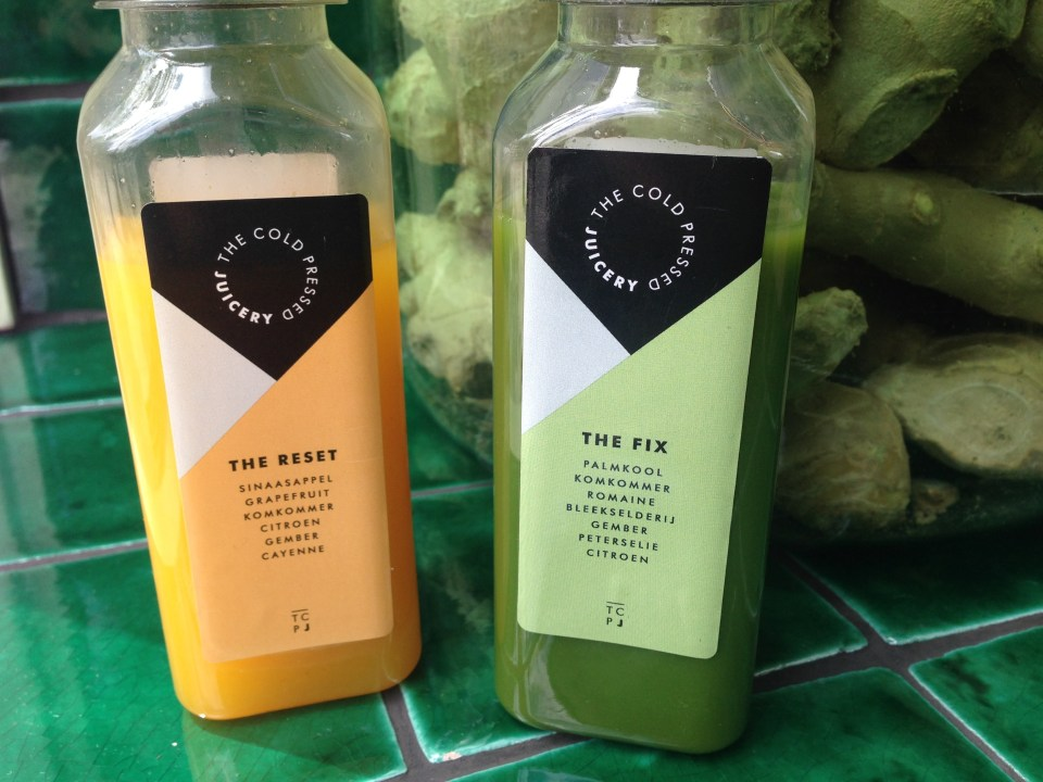 Do you love freshly squeezed fruit juice? Then pop by one of our favorite Amsterdam juice bars! Cold Pressed Juicery awesomeamsterdam.com