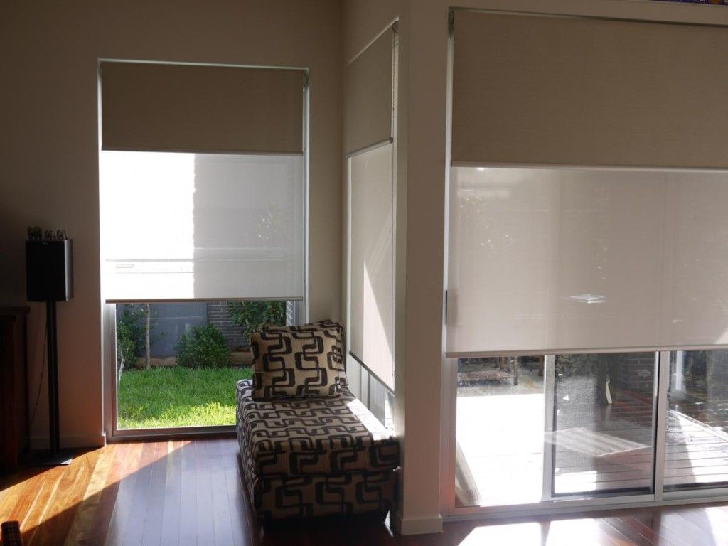 Rolgordijn Dubbel Double Roller Blinds Melbourne Quality Double Roller