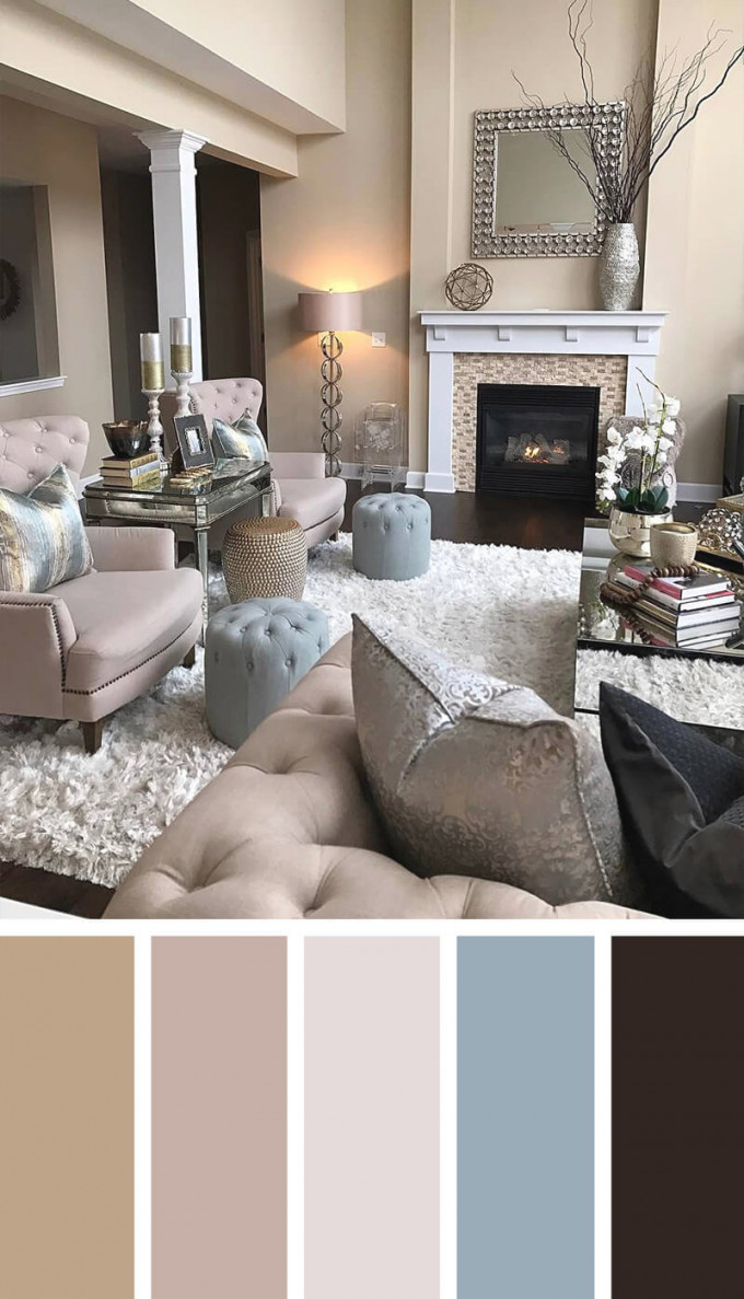 Living Room Colour Palette Ideas Awesome Decors