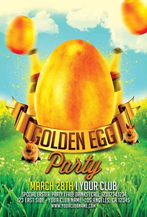 Easter Flyer Templates Archives Awesomeflyer