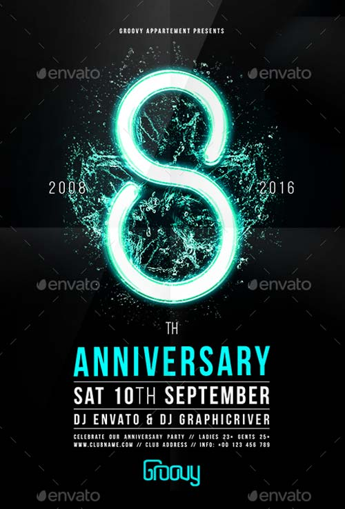 Best of Anniversary Flyer Templates - Free and Premium Flyer Collection