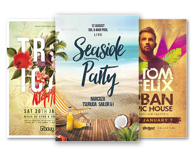 47 summer party flyer templates psd ai vector eps word free9