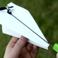 Electric Paper Airplane Kit
