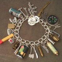 The Zombie Apocalypse Charm Bracelet