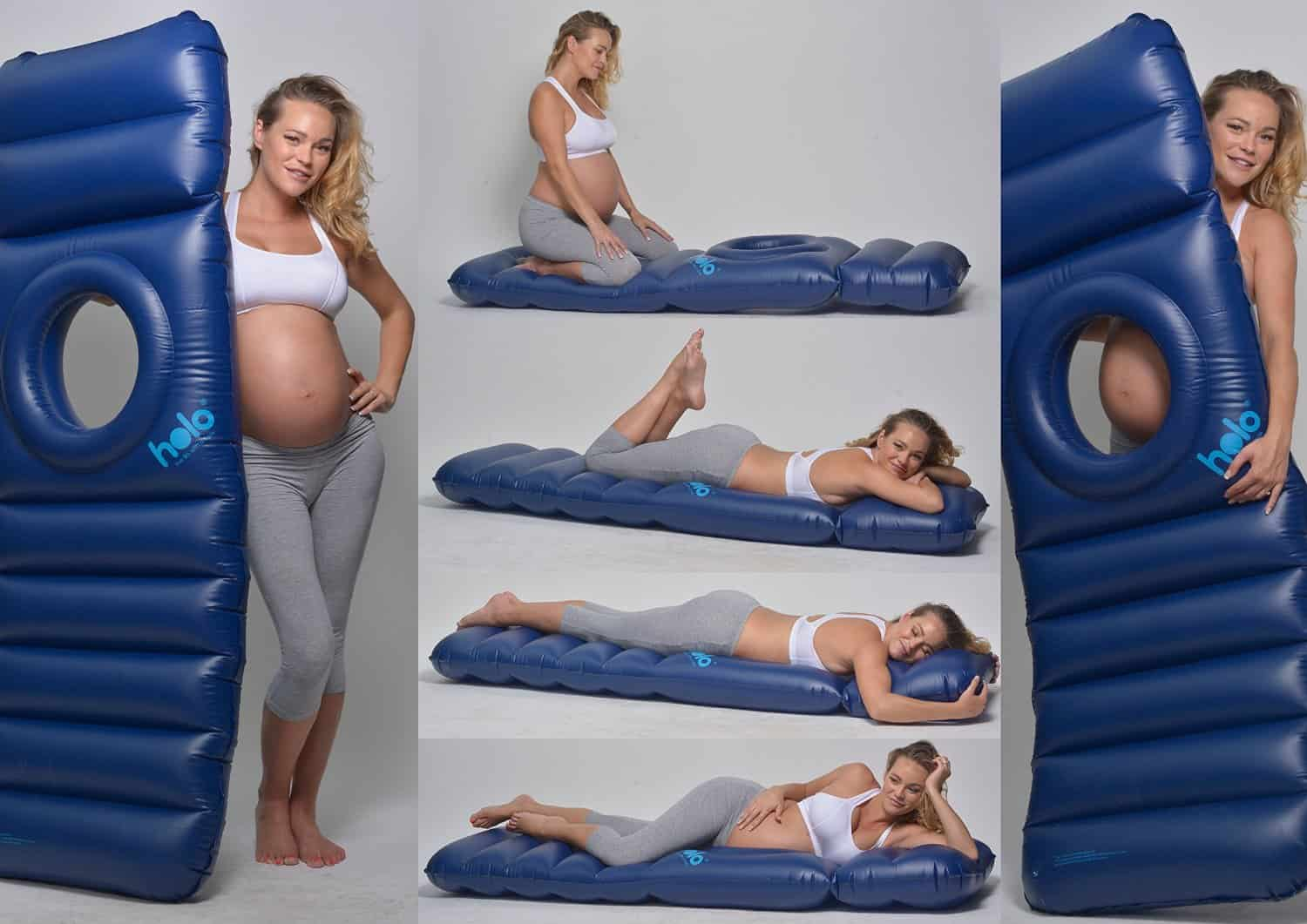 Complete Sleeper Pillow This Inflatable Maternity 39pillow Raft 39 Bed Will Totally