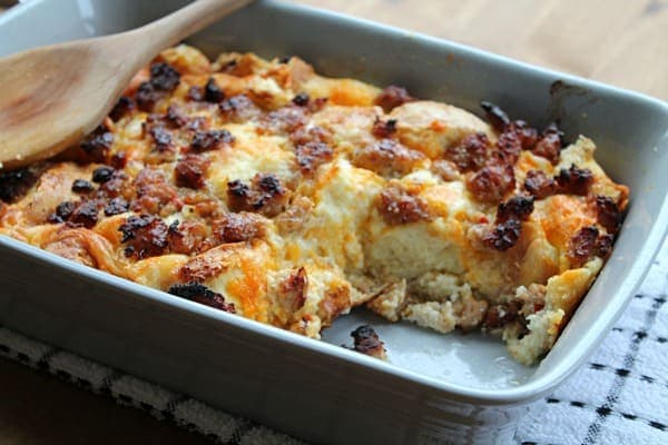 ... Sausage Bread Pudding, and take it easy. Weekends are everything