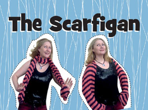 The DIY Upcycled Scarfigan & my new channel!