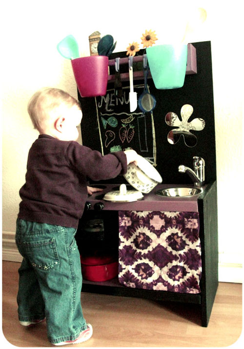 Our Coolest Culinary Creation: The DIY Kid's Kitchen