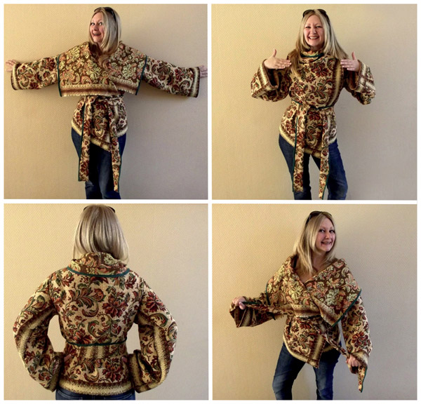 4 easy Upcycled DIY Coat Tutorials