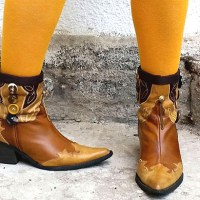 My DIY Refashioned Cowboy Boots