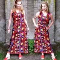 My Simple DIY Maxi Dress
