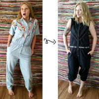 My Jumpsuit Refashion & Bias Binding How To