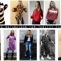 My fave refashions for #ThriftyThursday