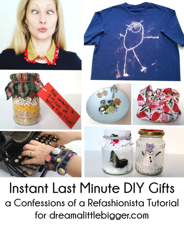 Instant Last Minute DIY Gifts